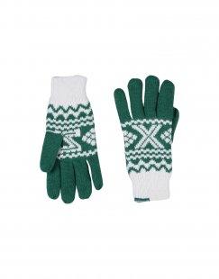 ADIDAS ORIGINALS Damen Handschuhe Farbe Grün Größe 6