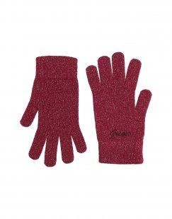 GUESS Damen Handschuhe Farbe Purpur Größe 3