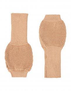 8 Damen Handschuhe Farbe Sand Größe 1