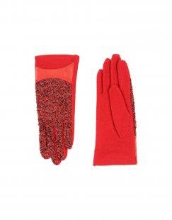 L´ APÉRO Damen Handschuhe Farbe Rot Größe 1