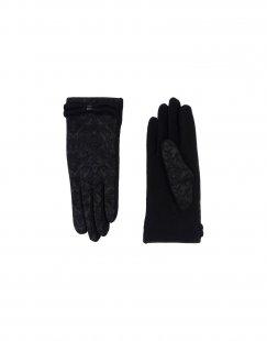 L´ APÉRO Damen Handschuhe Farbe Schwarz Größe 1