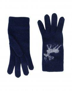 8 Damen Handschuhe Farbe Dunkelblau Größe 1