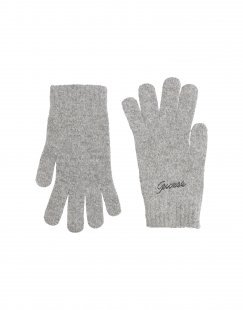 GUESS Damen Handschuhe Farbe Grau Größe 3