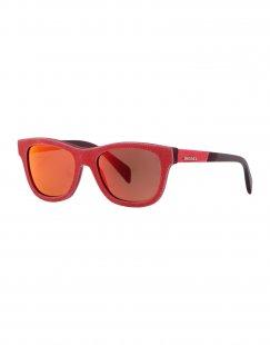 DIESEL Unisex Sonnenbrille Farbe Koralle Größe 1