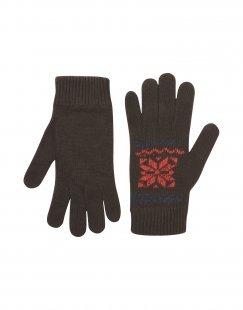 8 Herren Handschuhe Farbe Dunkelbraun Größe 4