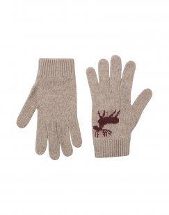 8 Herren Handschuhe Farbe Taubengrau Größe 4