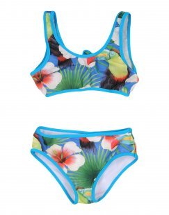 SUNDEK Mädchen 3-8 jahre Bikini Farbe Blau Größe 4