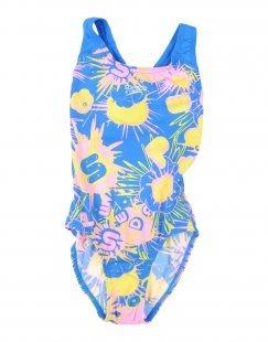 SPEEDO Mädchen 3-8 jahre Badeanzug Farbe Azurblau Größe 2