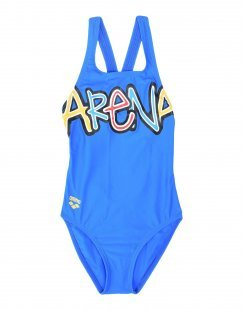 ARENA Mädchen 3-8 jahre Badeanzug Farbe Azurblau Größe 6