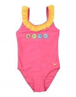 ARENA Mädchen 3-8 jahre Badeanzug Farbe Fuchsia Größe 6