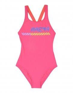 ARENA Mädchen 3-8 jahre Badeanzug Farbe Fuchsia Größe 4