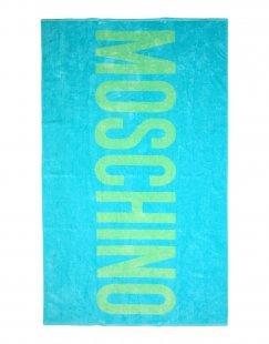 MOSCHINO Damen Badetuch Farbe Azurblau Größe 1