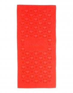 TWIN-SET Simona Barbieri Damen Badetuch Farbe Rot Größe 1