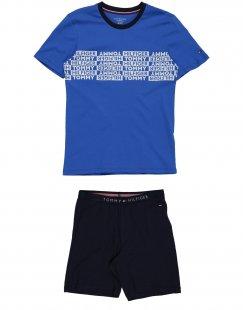 TOMMY HILFIGER Jungen 9-16 jahre Pyjama Farbe Königsblau Größe 2