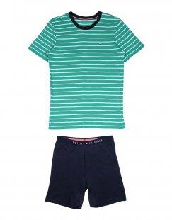 TOMMY HILFIGER Jungen 9-16 jahre Pyjama Farbe Grün Größe 2