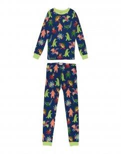 HATLEY Jungen 9-16 jahre Pyjama Farbe Dunkelblau Größe 2