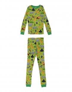 HATLEY Jungen 9-16 jahre Pyjama Farbe Grün Größe 2