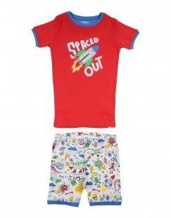 HATLEY Jungen 9-16 jahre Pyjama Farbe Rot Größe 2