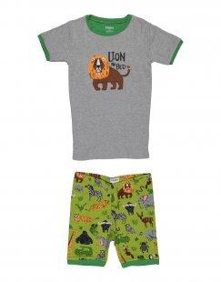 HATLEY Jungen 9-16 jahre Pyjama Farbe Grau Größe 2