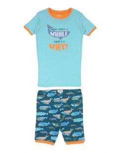 HATLEY Jungen 9-16 jahre Pyjama Farbe Säuregrün Größe 2