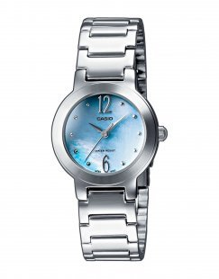 CASIO Herren Armbanduhr Farbe Himmelblau Größe 1