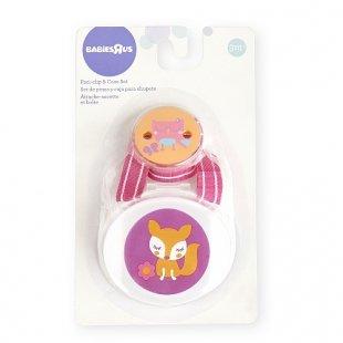 Babies R Us - Schnullerkette und -Box Fuchs