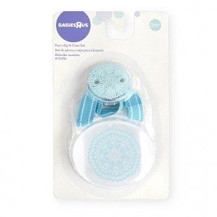 Babies R Us - Schnullerkette und -Box Medallion