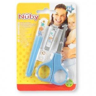 Nuby - Baby Maniküre Set, blau
