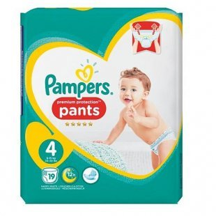 Pampers - Windeln Premium Protection Pants Maxi Gr. 4 (19 Stück)