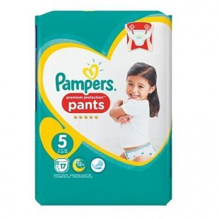 Pampers - Windeln Premium Protection Pants Junior Gr. 5 (17 Stück)
