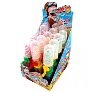 Sweet Flash - Lutscher Spinner Pop, 15g, sortiert
