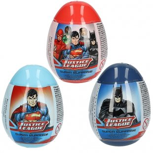 BIP Candy - Super Surprise Egg Justice League, 10g, sortiert