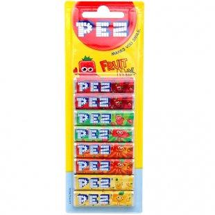 PEZ - Brause Nachfüllstangen, 8 Stück