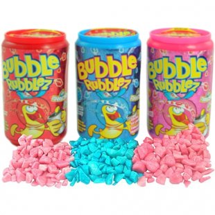Funny Candy - Kaugummi Bubble Rubblez, 60g, sortiert