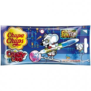 Chupa Chups - Lutscher Crazy Lab Fun Pen, 40g