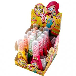 Sweet Flash - Lutscher Claw Pop, 15g, sortiert