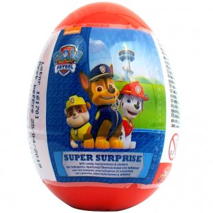 BIP Candy - Super Surprise Egg Paw Patrol, 10g