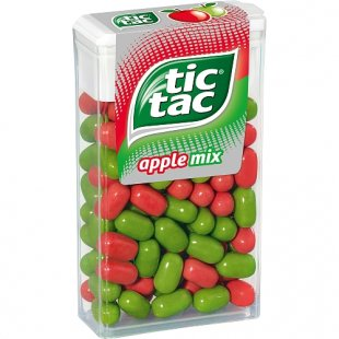 Ferrero - Tic Tac 100er Apple Mix, 49g