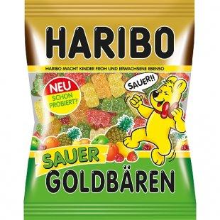 Haribo - Goldbäre, sauer, 200g