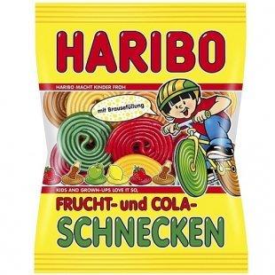 Haribo - Frucht- & Cola-Schnecken, 175g