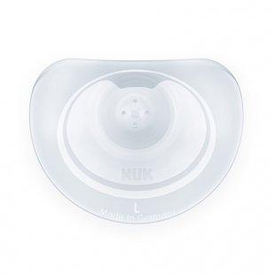 NUK - Brusthütchen Silikon 2er Pack Gr.L