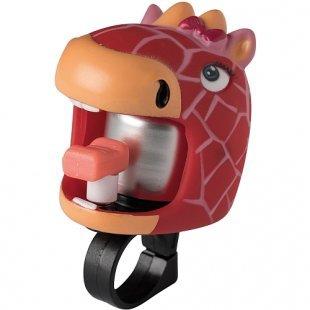 Crazy Safety - Fahrradklingel Red Giraffe