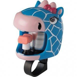 Crazy Safety Fahrradklingel Blaue Giraffe, S