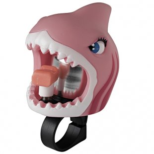 Crazy Safety - Fahrradklingel Pinker Hai