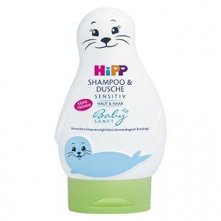 Hipp - Babysanft Shampoo & Dusche Sensitiv, 200ml