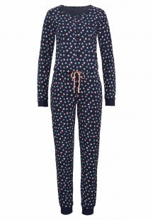 Vivance Dreams Jumpsuit mit Allover-Print