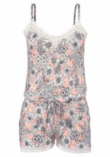 s.Oliver RED LABEL Bodywear Playsuit mit Allover-Blumenprint