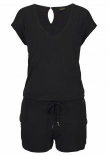 LASCANA Playsuit mit elastischem Taillenbund
