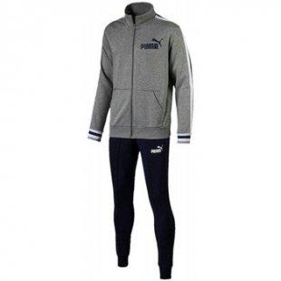 Puma Jogginganzüge Style Herren Hose Trainingsanzug Grau 59484403
