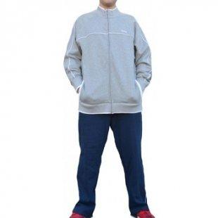 Reebok Sport Jogginganzüge Herren Trainingsanzug Grau Blau